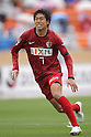 Toru Araiba, (Antlers), April 23rd, 2011 - Football : 2011 J.LEAGUE Division 1, 7th Sec match between Kashima Antlers 0-3 Yokohama Marinos at National Stadium, Tokyo, Japan. The J.League resumed on Saturday 23rd April after a six week enforced break following the March 11th Tohoku Earthquake and Tsunami. All games kicked off in the daytime in order to save electricity and title favourites Kashima Antlers are still unable to use their home stadium which was damaged by the quake. Velgata Sendai, from Miyagi, which was hard hit by the tsunami came from behind for an emotional 2-1 victory away to Kawasaki. (Photo by Akihiro Sugimoto/AFLO SPORT) [1080]
