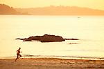 Atardecer en la Playa de Perbes.