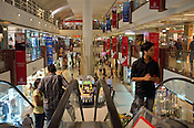 Shoppers at the Select City Walk Mall in New Delhi, India. Photo: Sanjit Das