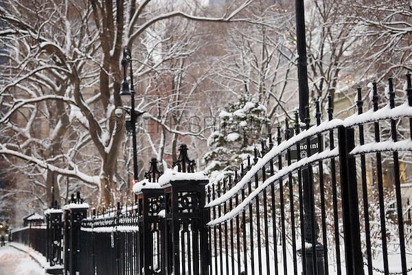 Snow Storm New York City