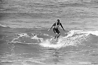 Richard Harvey (AUS) competiting in the Rip Curl Pro, Bells Beach, Toruay, Victoria, Australia. circa1976.Photo:  joiliphotos.com