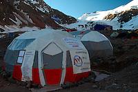 Plaza de Mulas Aconcagua Base Camp