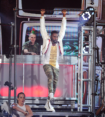 LAS VEGAS, NV - MAY 18: 5 Jason Derulo performs on the 2014 Billboard Music Awards at the MGM Grand Garden Arena on Sunday, May 18, 2014 in Las Vegas, Nevada.PGMicelotta/MediaPunch