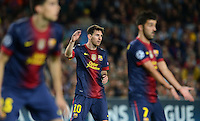 FUSSBALL   INTERNATIONAL   CHAMPIONS LEAGUE   2012/2013      FC Barcelona - Celtic FC Glasgow       23.10.2012 Lionel Messi (Mitte, Barca)