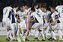 Matsumoto Yamaga team group, April 27, 2012 - Football / Soccer : 2012 J.LEAGUE Division 2, 10th Sec match between FC Machida Zelvia 0-1 Matsumoto Yamaga F.C. at Machida Stadium, Tokyo, Japan. (Photo by Yusuke Nakanishi/AFLO SPORT) [1090]