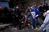 New York, New York<br /> February 7, 2012<br /> <br /> After the parade for the New York Giants who won the Super Bowl on Sunday against the New England Patriots.