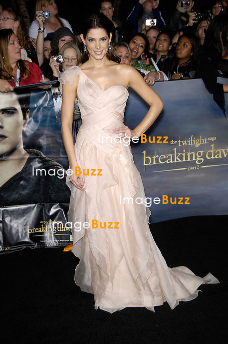 Ashley Greene during the premiere of the new movie from Lions Gate TWILIGHT: BREAKING DAWN 2, held at the Nokia Theatre, on November 12, 2012, in Los Angeles..
