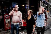 Oslo 20110722 Terrorangrep mot Oslo. Bilde fra Torggata like etter at bomba gikk av.  22. juli 2011 FOTO: ADRIAN ØHRN JOHANSEN