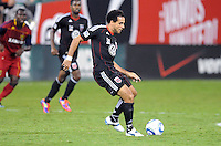 D.C. United forward Dwayne De Rosario (7) D.C. United defeated Real Salt Lake 4-1 at RFK Stadium, Saturday September 24 , 2011.