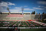 FRESNO, CA - AUGUST 11, 2014:   Fresno State's football team at afternoon practice. CREDIT: Max Whittaker for The New York Times