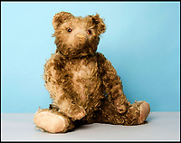 BNPS.co.uk (01202 558833)<br /> Pic: SAS/BNPS<br /> <br /> A rare 1920s Farnell brown mohair teddy bear estimated at &pound;800.<br /> <br /> One woman's epic collection of more than 600 teddy bears is expected to fetch &pound;40,000 when it goes under the hammer.<br /> <br /> The late Yvonne Crompton amassed 635 bears, as well as teddy ornaments and pictures, over 50 years of collecting and had many limited edition models.<br /> <br /> Her vast collection filled a whole room from floor-to-ceiling at her five-bedroom family home in Wimbledon, south west London.<br /> <br /> Mrs Crompton spent decades scouring car boot sales, antique fairs and specialist exhibitions for her bears, which her husband Rufus would also often buy her as presents.