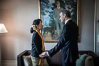NOBEL PEACE PRIZE: AUNG SAN SUU KYI