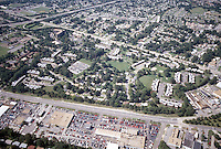 1996 September 23..Assisted Housing..Oakmont North...Aerial.Looking West with Military Highway in front...NEG#.NRHA#..HOUSING/OAKMONT2  2:4