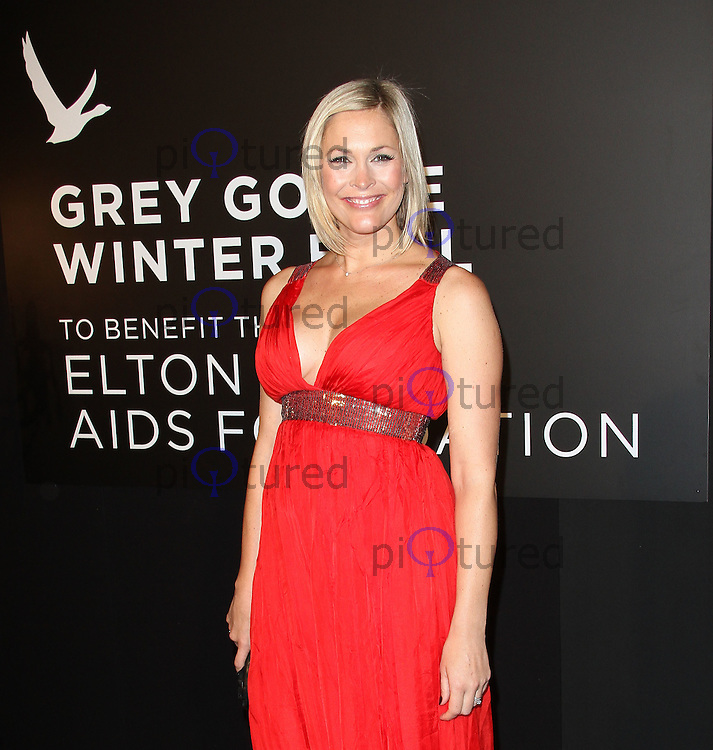 Jenni Falconer Grey Goose Winter Ball to benefit the Elton John AIDS Foundation, Battersea Evolution, London, UK, 29 October 2011:  Contact: Rich@Piqtured.com +44(0)7941 079620 (Picture by Richard Goldschmidt)