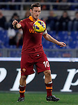 Calcio, Serie A: AS Roma vs Torino. Roma, stadio Olimpico, 19 novembre 2012..AS Roma forward Francesco Totti controls the ball during the Italian Serie A football match between AS Roma and Torino at Rome's Olympic stadium, 19 November 2012..UPDATE IMAGES PRESS/Isabella Bonotto