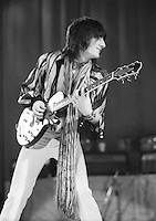 Rod Stewart and Faces (Ronnie Wood) 1973  Credit: Ian Dickson/MediaPunch