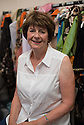 Edinburgh, UK. 08.08.2014.  Poet, Pam Ayres, backstage at the Assembly Rooms, where she is appearing as part of Edinburgh Festival Fringe. Photograph © Jane Hobson.