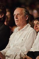 PESCARA (PE) 08/07/2012 - 39° FILM FESTIVAL INTERNAZIONALE FLAIANO. PREMIAZIONE FINALE. IN FOTO IL REGISTA DARIO ARGENTO. FOTO DI LORETO ADAMO