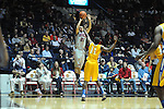 "Ole Miss' Marshall Henderson (22) vs. McNeese State's Kevin Hardy (11) at the C.M. ""Tad"" Smith Coliseum in Oxford, Miss. on Tuesday, November 20, 2012. .."