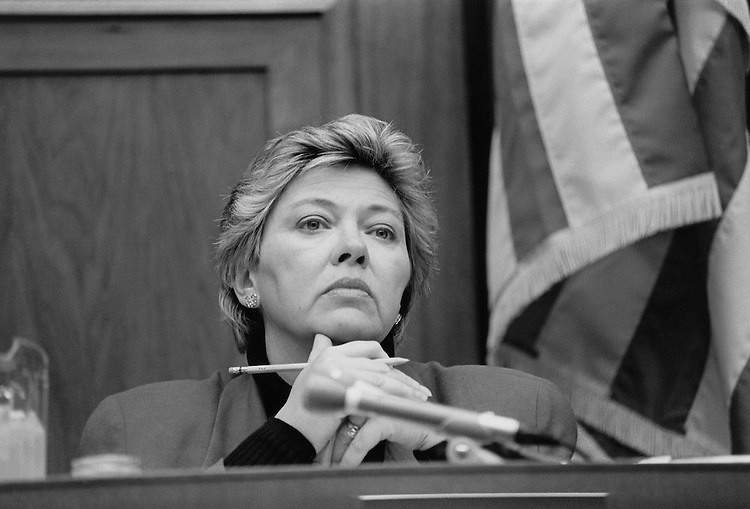 Representative Leslie Byrne, D-Va. November 1994 (Photo by Maureen Keating/CQ Roll Call)