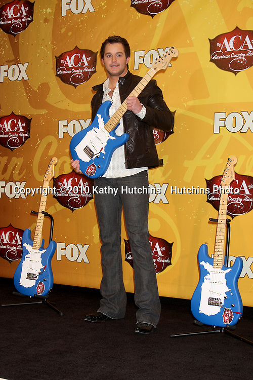LOS ANGELES - DEC 6:  Easton Corbin in the press room of the 2010 American Country Awards at MGM Grand Garden Arena on December 6, 2010 in Las Vegas, NV.
