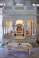 Jaswant Thada, tomb and shrine of Jaswant Singh, the Maharaja of Jodhpur Memorial, built 1906, at Jodhpur in Rajasthan, India