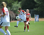 Ole Miss' Maddie Friedman (8) vs. Louisiana-Lafayette in college soccer action at the Ole Miss Soccer Stadium in Oxford, Miss. on Sunday, August 26, 2012. Rafaelle Souza delivered her fourth goal of the season in the 12th minute for Ole Miss (4-0).