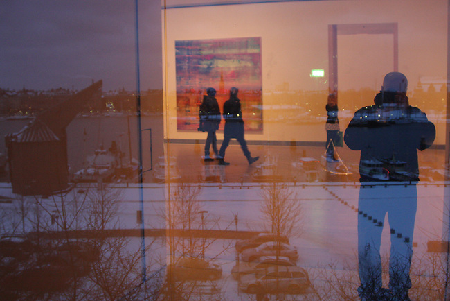 The Museum of Modern Art in Stockholm, Sweden. Jan. 3, 2008.