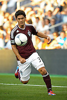 Rapids forward Edu (37) in action..Sporting Kansas City defeated Colorado Rapids 2-0 in Open Cup play at LIVESTRONG Sporting Park, Kansas City, Kansas.