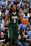 30 December 2014: William and Mary's Marcus Thornton. The University of North Carolina Tar Heels played the College of William & Mary Tribe in an NCAA Division I Men's basketball game at the Dean E. Smith Center in Chapel Hill, North Carolina. UNC won the game 86-64.