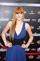 "LOS ANGELES - APR 11:  Bella Thorne arrives at ""The Avengers"" Premiere at El Capitan Theater on April 11, 2012 in Los Angeles, CA"