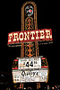 The Frontier Casino Hotel Marquee Neon Light Sign, Las Vegas, Nevada