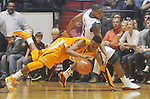 Tennessee's Scotty Hopson (32) and Ole Miss guard Dundrecous Nelson (5) go for the ball at the C.M. &quot;Tad&quot; Smith Coliseum in Oxford, Miss. on Satursday, January 29, 2011.  (AP Photo/Oxford Eagle, Bruce Newman)