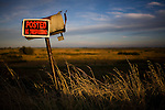 A mailbox on Grand Island in the Delta, October 26, 2009.