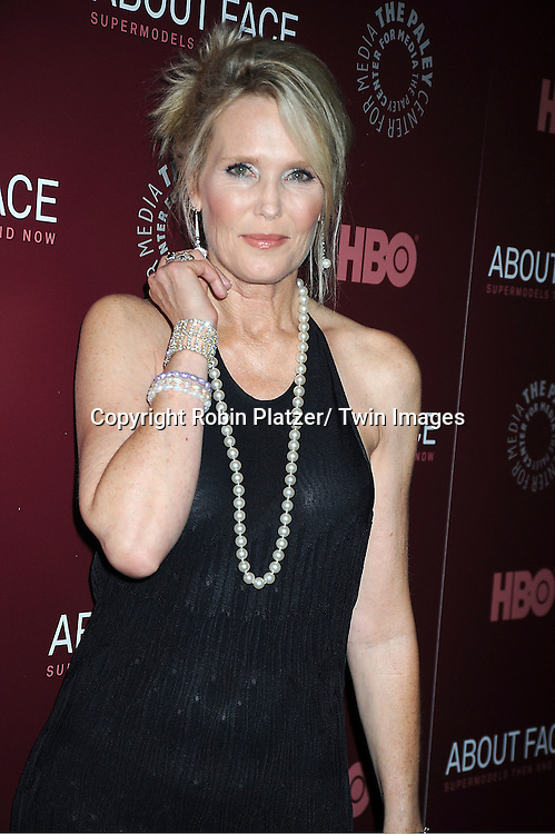 Model nancy donahue attends the new york premiere of hbo s about face