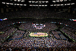 02 APR 2012:  The University of Kansas plays the University of Kentucky during the 2012 NCAA Men's Division I Basketball Championship Final Four held at the Mercedes-Benz Superdome hosted by Tulane University in New Orleans, LA.  The University of Kentucky beat the University of Kansas 67-59. Joshua Duplechian/ NCAA Photos