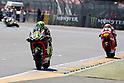 May 23, 2010 - Jerez, Spain  - Gresini Racing's Spanish Toni Elias powers his bike during the French Grand Prix on May 23, 2010. (Photo Andrew Northcott/Nippon News)..
