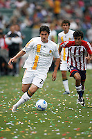 20 May 2007: Galaxy midfielder #25 Santino Quaranta during a 1-1 tie for MLS Chivas USA vs. Los Angeles Galaxy pro soccer teams at the Home Depot Center in Carson, CA.