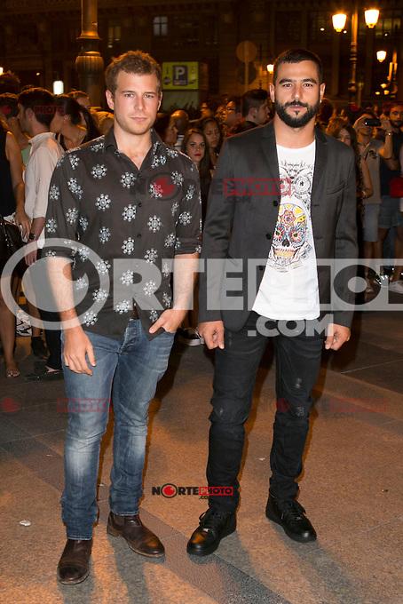 Alvaro Cervantes and Antonio Velazquez attends the party of Nike and Roberto Tisci at the Casino in Madrid, Spain. September 15, 2014. (ALTERPHOTOS/Carlos Dafonte) /NortePhoto.com
