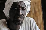 A man in Dondona, an Arab village in South Darfur.
