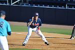 Ole Miss' Andrew Mistone (25) vs. North Carolina-Wilmington at Oxford-University Stadium in Oxford, Miss. on Friday, February 24, 2012. Ole Miss won 2-0.