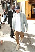 NEW YORK, NY - September 7: Tyga seen leaving Cipriani Soho on September 7, 2016 in New York City. Credit: DC/Media Punch
