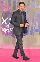 Jay Hernandez at the &quot;Suicide Squad&quot; European film premiere, Odeon Leicester Square cinema, Leicester Square, London, England, UK, on Wednesday 03 August 2016.<br /> CAP/CAN<br /> &copy;CAN/Capital Pictures /MediaPunch ***NORTH AND SOUTH AMERICAS ONLY***