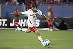 12 December 2008: Graham Zusi (11) of Maryland prepares to shoot on goal.  The University of Maryland Terrapins defeated the St. John's University Red Storm 1-0 during the second sudden death overtime at Pizza Hut Park in Frisco, TX in an NCAA Division I Men's College Cup semifinal game.
