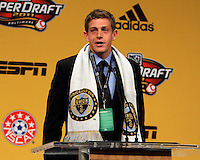 Zac MacMath at the 2011 MLS Superdraft, in Baltimore, Maryland on January 13, 2010.