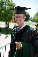 Ian Odell. Class of 2012 commencement.