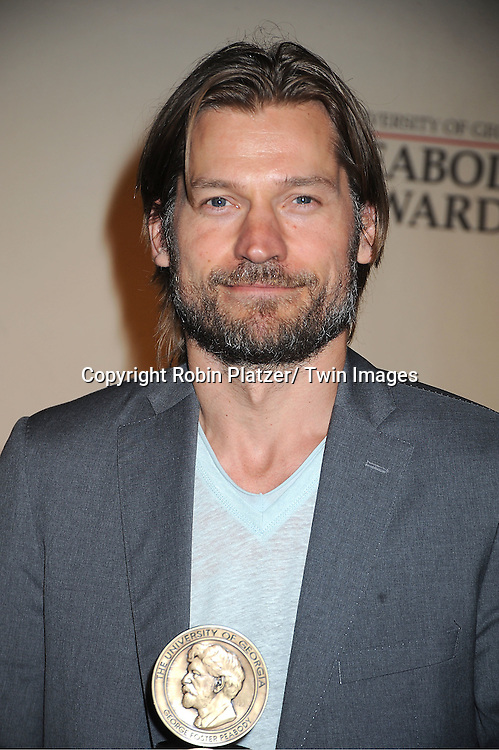 "Nicolaj Coster-Waldau of ""Game of Thrones"" attends the 71st Annual Peabody Awards at the Waldorf Astoria Hotel in New York City on May 21, 2012."