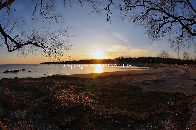 Sea Bluff Beach, West Haven, Connecticut<br />