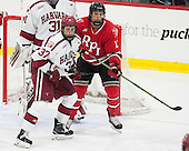 Desmond Bergin (Harvard - 37), Viktor Liljegren (RPI - 12) - The Harvard University Crimson defeated the visiting Rensselaer Polytechnic Institute Engineers 5-2 in game 1 of their ECAC quarterfinal series on Friday, March 11, 2016, at Bright-Landry Hockey Center in Boston, Massachusetts.