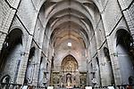 Interior of San Francisco Church, Evora, Alto Alentejo, Portugal